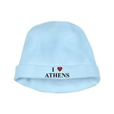 I Love Athens baby hat