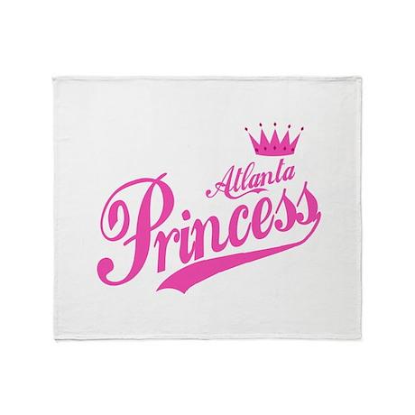 Atlanta Princess Throw Blanket