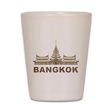 Vintage Bangkok Temple Shot Glass