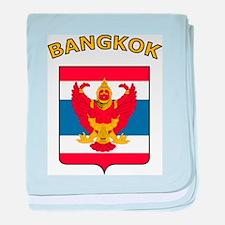 Bangkok baby blanket