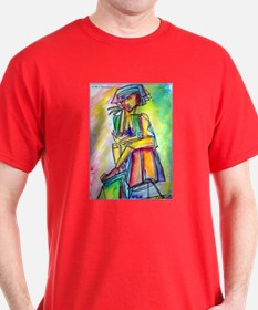 Abstract colorful woman T-Shirt