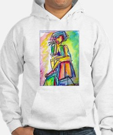 Abstract colorful woman Hoodie