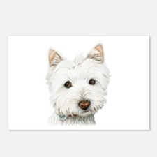 Westie Dog Postcards (Package of 8)