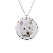 Westie Dog Necklace