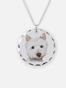Westie Dog Necklace