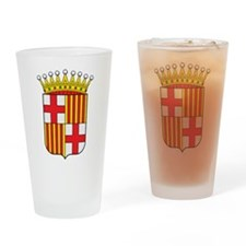 Barcelona Coat Of Arms Pint Glass