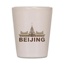Vintage Beijing Temple Shot Glass