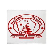 Beijing Throw Blanket