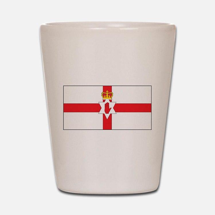 Northern Ireland Flag Shot Glass