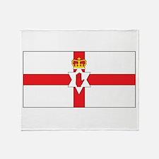 Northern Ireland Flag Throw Blanket