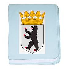 Berlin Coat Of Arms baby blanket