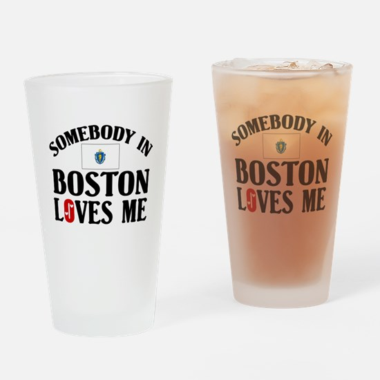 Somebody In Boston Pint Glass