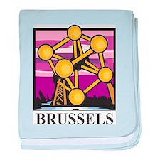 Brussels baby blanket