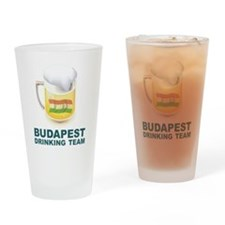 Budapest Drinking Team Pint Glass