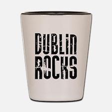 Dublin Rocks Shot Glass