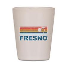 Palm Tree Fresno Shot Glass