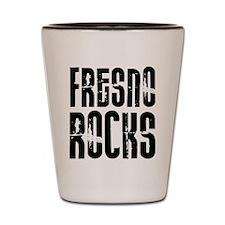 Fresno Rocks Shot Glass