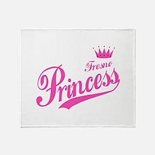 Fresno Princess Throw Blanket