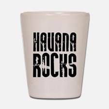 Havana Rocks Shot Glass