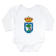 Madrid Coat Of Arms Long Sleeve Infant Bodysuit