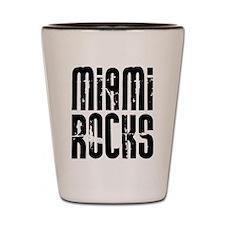 Miami Rocks Shot Glass