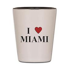 I Love Miami Shot Glass