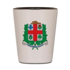 Montreal Coat Of Arms Shot Glass