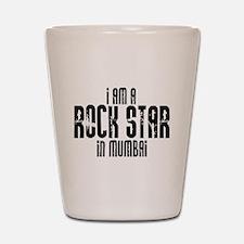 Rock Star In Mumbai Shot Glass