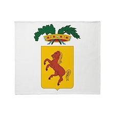Naples Coat Of Arms Throw Blanket