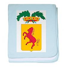 Naples Coat Of Arms baby blanket