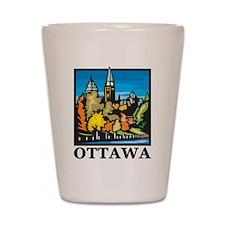 Ottawa Shot Glass