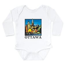 Ottawa Long Sleeve Infant Bodysuit