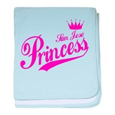 San Jose Princess baby blanket