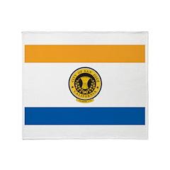 San Jose Flag Throw Blanket