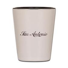 Vintage San Antonio Shot Glass
