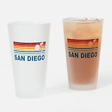 Palm Tree San Diego Pint Glass