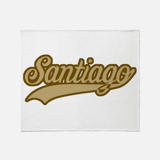 Retro Santiago Throw Blanket