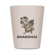 Vintage Shanghai Dragon Shot Glass