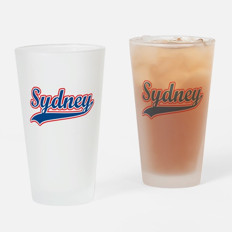 Retro Sydney Pint Glass