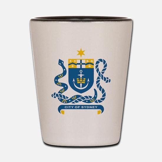 Sydney Coat Of Arms Shot Glass