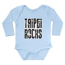 Taipei Rocks Long Sleeve Infant Bodysuit