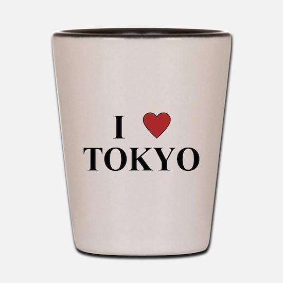 I Love Tokyo Shot Glass