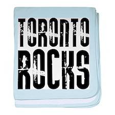 Toronto Rocks baby blanket