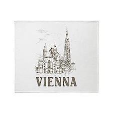 Vintage Vienna Throw Blanket