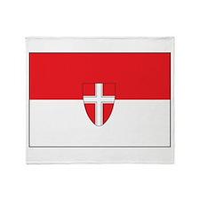 Vienna Flag Throw Blanket