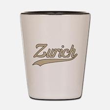 Retro Zurich Shot Glass