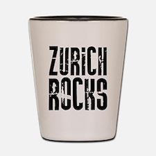 Zurich Rocks Shot Glass