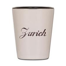 Vintage Zurich Shot Glass
