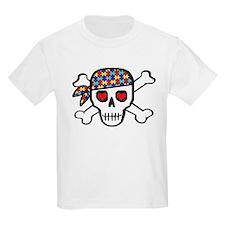 Rockin' Autism Skull T-Shirt