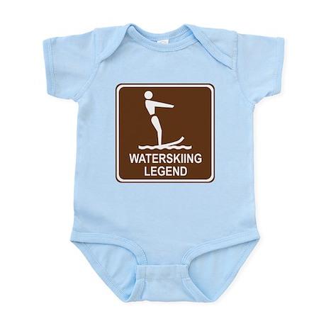 Waterskiing Legend Infant Bodysuit